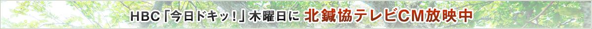 北鍼協CM放映中